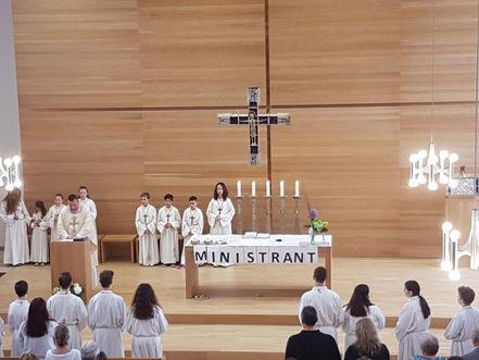 Erste messe eines katholischen priesters kreuzworträtsel
